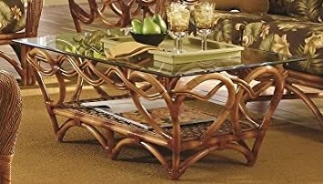 Tobago Rattan Coffee Table