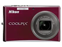 Nikon Coolpix S710 14.5MP Digital Camera with 3.6x Wide Angle Optical Vibration Reduction (VR) Zoom (Deep Red)