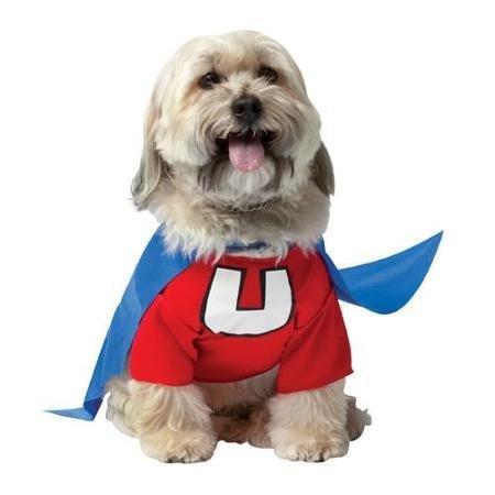 [Underdog Pet Halloween Costume TV Costume sz Small WLM] (Underdog Pet Costume)