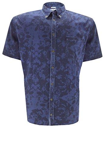 Replika -  Camicia Casual  - Uomo blu 74