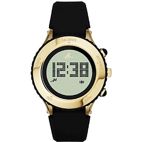 Adidas Performance ADP3191 Ladies Urban Runner Gold IP Matte Black Digital Watch