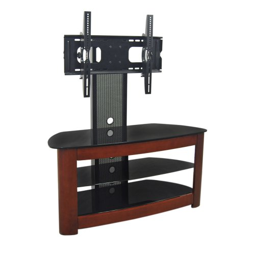 Walker Edison 42 Inch 4 In 1 TV Stand With Removable Mount,