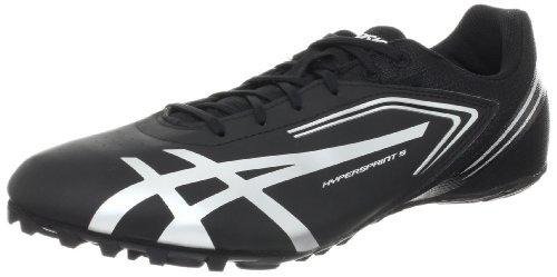 ASICS Men\u0027s Hypersprint 5 Running Shoe,Black/Silver,11 M US price