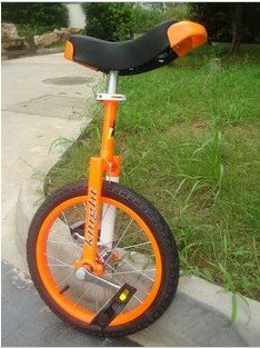 16 inches discoverer dream Taiwan knight professional competitive unicycle(orange)