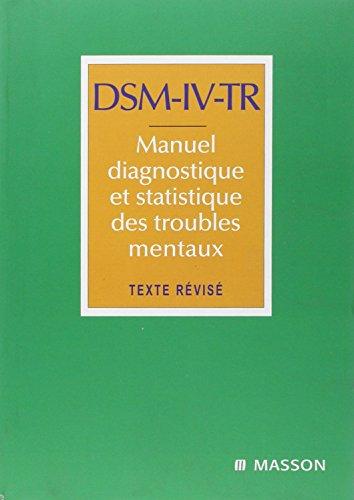 dsm-iv-tr-manuel-diagnostique-et-statistique-des-troubles-mentaux