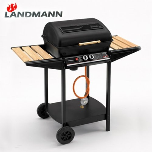 landmann gasgrill 12375 luxus ausf hrung lavastein grill grillwagen bbq kaufen test gasgrills test. Black Bedroom Furniture Sets. Home Design Ideas