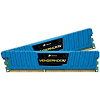 Corsair Vengeance Blue 8GB 2x4GB DDR3 1600 MHz PC3 12800 Desktop Memory