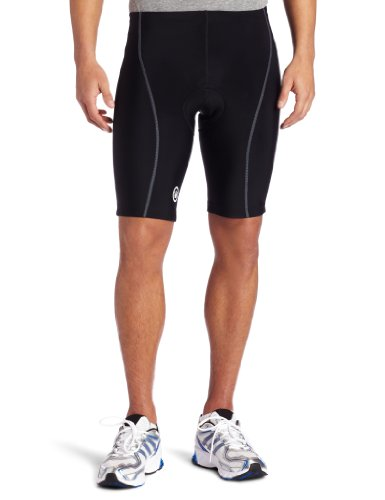 Buy Low Price Canari Cyclewear Men's Vortex G2 Padded Cycling Short (1031-BLK)