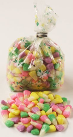 Scott's Cakes Bunny Corn in a 1 Pound Pastel Floral Bag (Candy Corn Pastel compare prices)