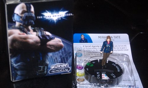 DC Heroclix Dark Knight Rises Counter top Miranda Tate - 1