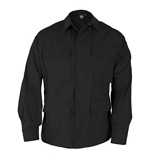 propper-f5464-genuine-gear-bdu-60c-40p-ripstop-coat-black-m-regular