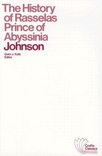 The History of Rasselas Prince of Abyssinia (Crofts...