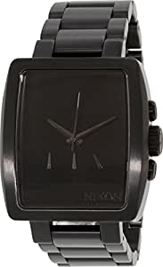 Nixon Men's A324-001 Axis Black Stainless Steel