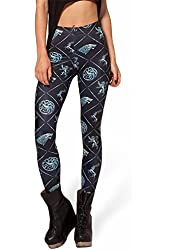 Amour-Celeb Inspired Adventure Time BMO Digital Print Leggings Pants Tights O/S (One Regular Size, MD3134)