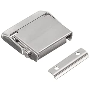 Stainless Steel 304 Spring Loaded Draw Latch, Polished Finish, Non