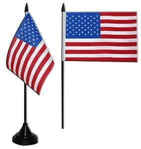 Digni® Drapeau de table USA, mini drapeau - 10 x 15 cm
