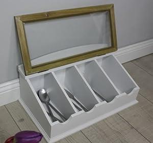 range couverts affichage de la bo te de bijoux cas. Black Bedroom Furniture Sets. Home Design Ideas