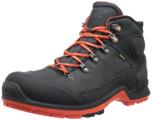 ECCO Men's Akka Mid Lite GTX Hiking Boot,Black,46 EU/12-12.5 M US