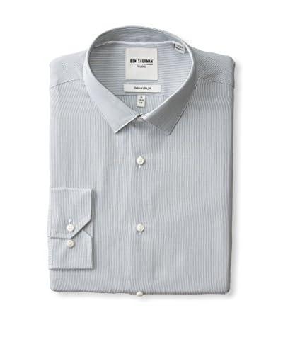 Ben Sherman Men's Thin Stripe Dress Shirt
