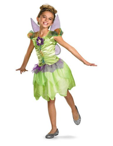 Baby-Toddler-Costume Tinker Bell Rainbow Toddler Costume 3T-4T Halloween