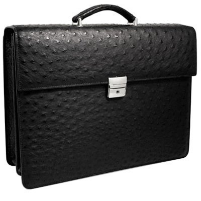 Genuine Ostrich Briefcase