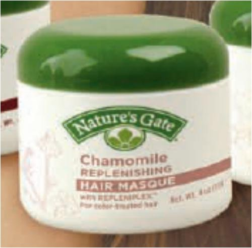 Buy Chamomile Replenishing Hair Masque with Repleniplex 4 oz (Nature's Gate Hair Conditioners, Conditioners)