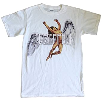 Led Zeppelin - Colorful Swan Song T-Shirt Size S