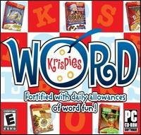 Word Krispies Windows Xp Compatible Cd Rom Computer Game