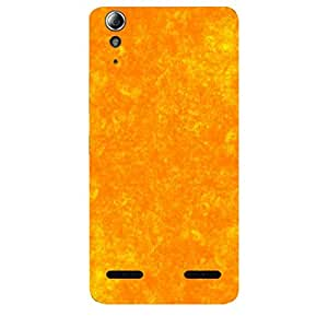 Skin4gadgets Royal English Pastel Colors in Grunge Effect, Color - Sunset Orange Phone Skin for LENOVO A6000