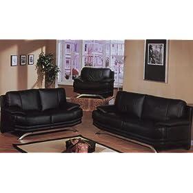 Los muebles de mi sala son en cueron negro que color for Muebles anser