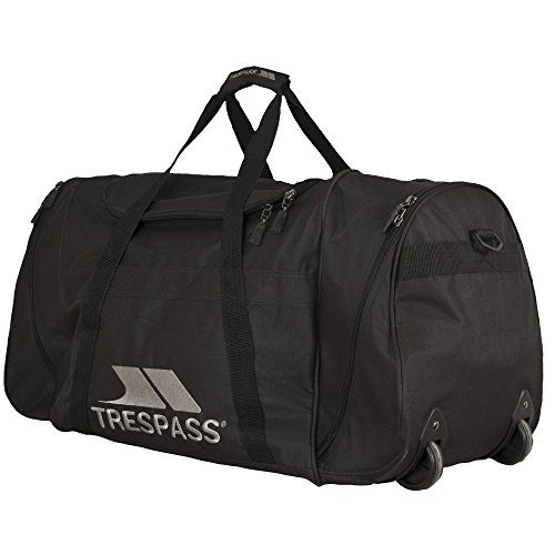 Trespass Pulley Trolley Bag (80 Liters) (One Size) (Black) (Trolley Bag Uk compare prices)