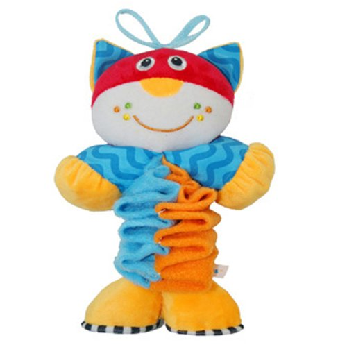 Play & Grow Stretch The Cat Take Along Toy With Music