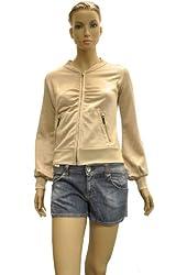 Miss Sixty Beige Polyester Jacket