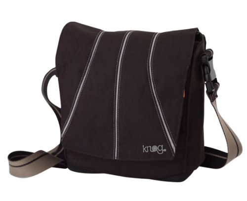 Knog Leading Dog Universal Bicycle Handlebar Bag with Hardware (Black/Brown)