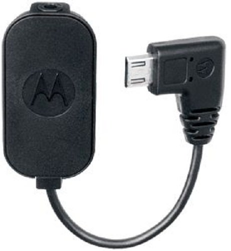 Motorola Syn2112A Microusb To 2.5Mm Adapter - Non-Retail Packaging - Black