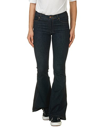 dr-denim-jeansmakers-womens-macy-womens-flared-jeans-in-blue-in-size-s-l32-blue