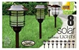Naturally Solar Pathway Lights (8 pack)