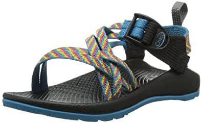 Chaco ZX1 Ecotread Sandal (Toddler/Little Kid/Big Kid), Fiesta, 10 M US Toddler