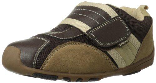 Pediped Flex Adrian Sneaker (Toddler/Little Kid),Chocolate Brown/Tan,31 Eu (13-13.5 M Us Little Kid) front-1048418