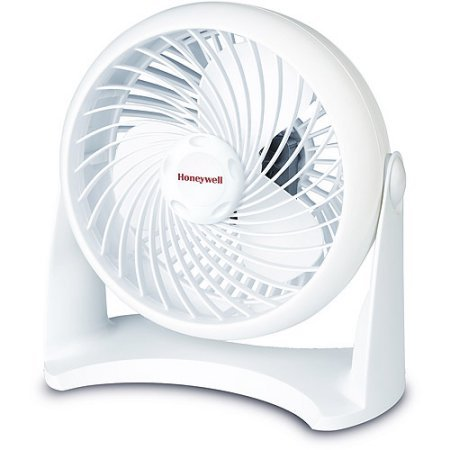 3 Speed Settings Honeywell Table Top Air Circulator Fan - White (Remote Control Tabletop Fans compare prices)