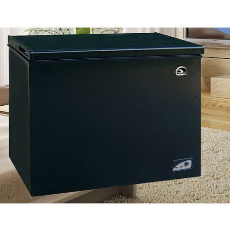 Igloo 7.1 cu ft Chest Freezer, Black, Energy-saving design Deep cooling and quick freezing (Deep Freezer Stand Up compare prices)