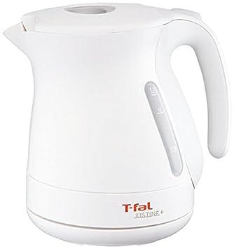 T-fal 電気ケトル 「ジャスティン プラス」 シンプルモデル ホワイト 1.2L KO340175: ホーム&キッチン