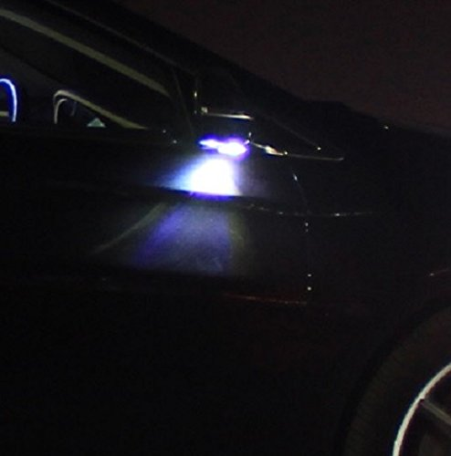 2x Außenspiegel SMD LED Beleuchtung Xenon Weiß Can Fehlerfrei passend für Fiat Doblo