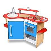Melissa & Doug Cooks Corner Wooden Kitchen