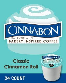Cinnabon Classic Cinnamon Roll K-Cup Coffee 24 count, pack of 4 (Keurig Coffee K Cups Cinnabon compare prices)
