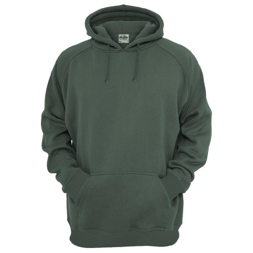 All We Do Is Men's Military Green Hoodie - Medium