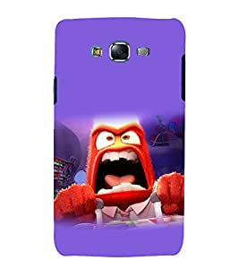 printtech Disneyy Inside Out Angry Back Case Cover for Samsung Galaxy Core i8262 / Samsung Galaxy Core i8260