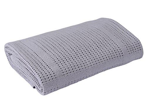 Clair-de-Lune-Cellular-Pram-Blanket-Grey