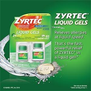 zyrtec-cetirizine-hci-antihistamine-10mg-65-liquid-gels-one-bottle-of-25-and-one-bottle-of-40