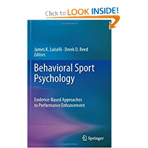 Behavioral Sport Psychology - James K. Luiselli